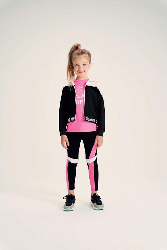 Спортен суитшърт за момиче IDO 42727